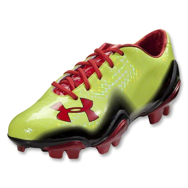Under Armour Blur II FG Cleats (Velocity/Black/Red)
