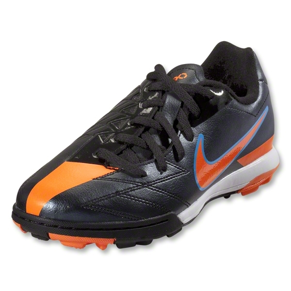 Nike T90 Shoot IV TF Junior (Black/Total Orange/Blue Glow)
