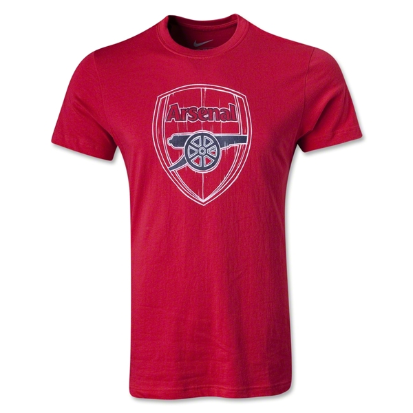 Arsenal Basic Core T-Shirt (Red)