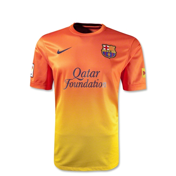 Barcelona 12/13 Youth Away Soccer Jersey