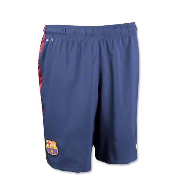 Barcelona 12/13 Youth Home Soccer Short