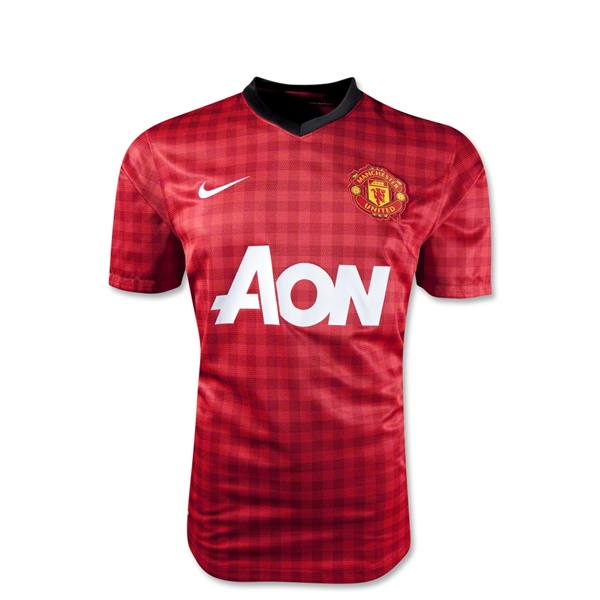 Manchester United 12/13 Youth Home Soccer Jersey