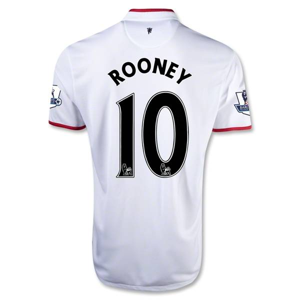 Manchester United 12/13 ROONEY Away Soccer Jersey