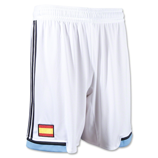 Spain 12/13 Away Soccer Shorts