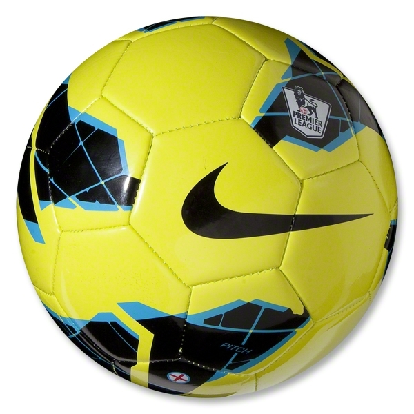 Nike League Pitch Premier League Ball (Volt/Blue)