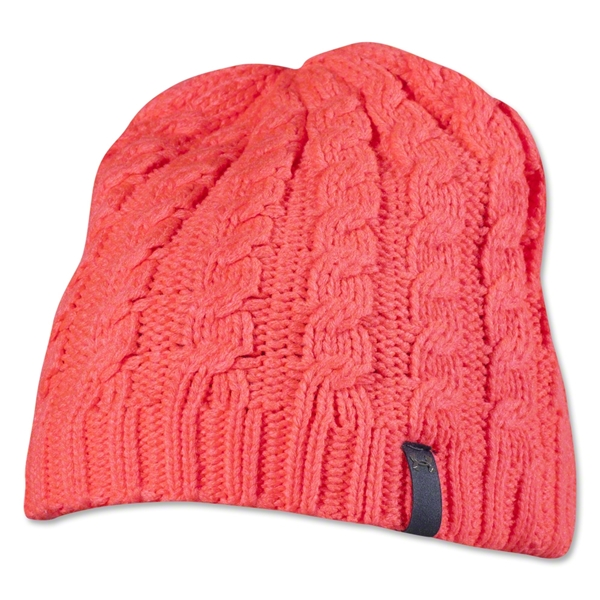 Under Armour Women's Coffee Run Beanie (Pink)