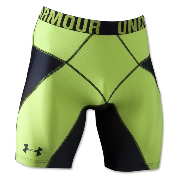 Under Armour HeatGear Core Short Lite (Blk/Green)