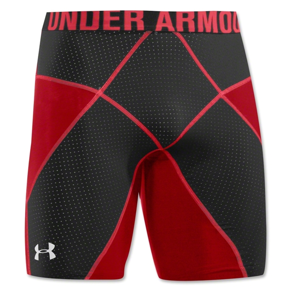 Under Armour HeatGear Core Short Lite (Red/Blk)