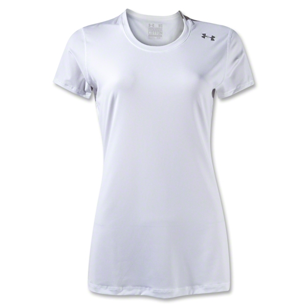 Under Armour Women's Hot Shot HeatGear T-Shirt (White)