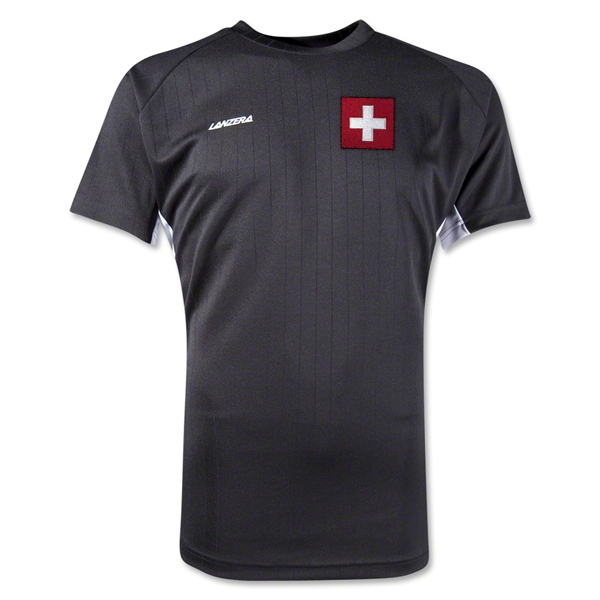 Switzerland Milano Jersey (Black)