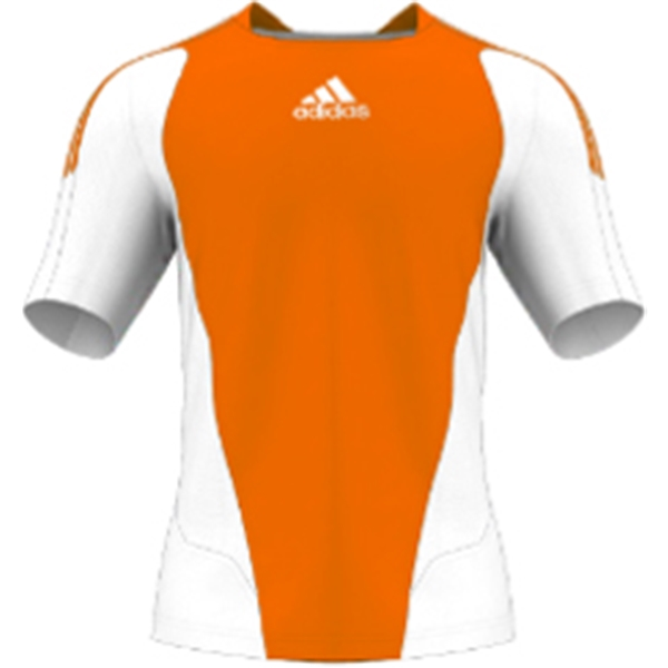miadidas 7's Basic SF Custom Jersey (Orange-Set of 22)
