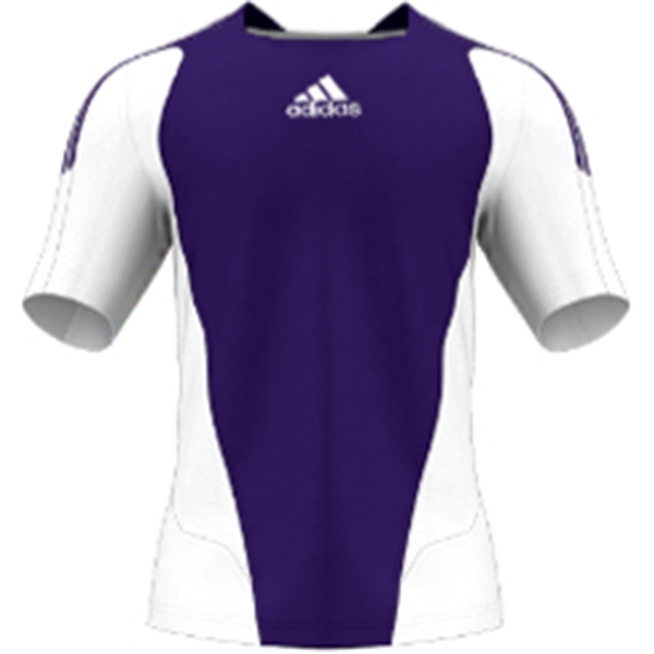 miadidas 7's Basic SF Custom Jersey (Purple-Set of 22)