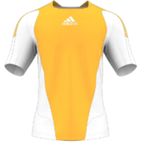 miadidas 7's Basic SF Custom Jersey (Yellow-Set of 22)
