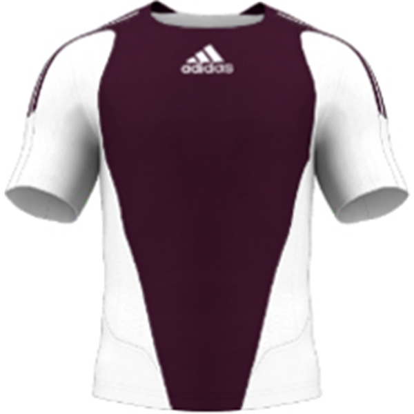 miadidas 7's Basic TF Custom Jersey (Cardinal-Set of 22)