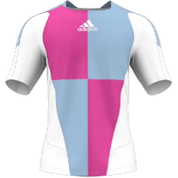 miadidas 7's Harlequin SF Custom Jersey (Pink-Set of 22)