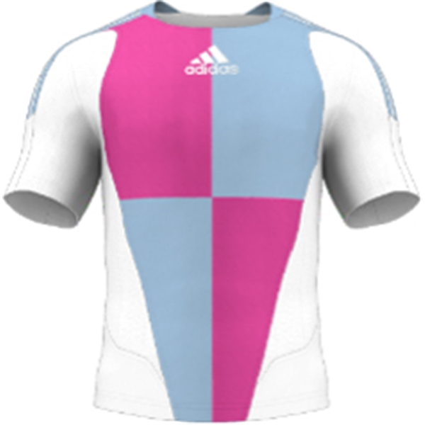 miadidas 7's Harlequin TF Custom Jersey (Pink-Set of 22)