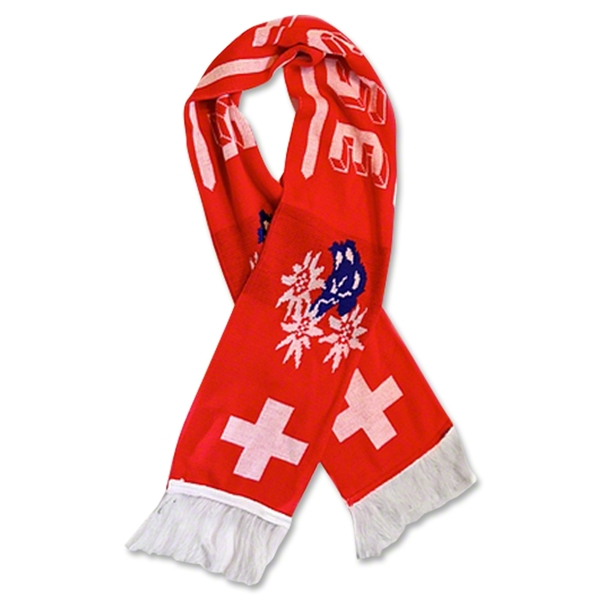Switzerland 2012 Team Fan Scarf