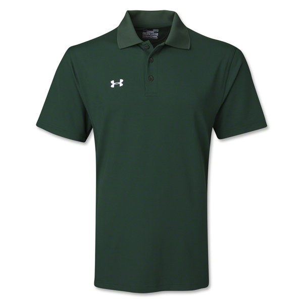 Under Armour Performance Team Polo (Dark Green)