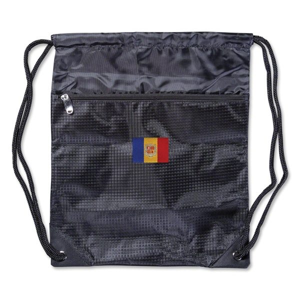 Andorra Flag Sackpack