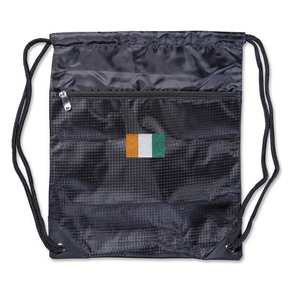 Cote d'Ivoire Flag Sackpack