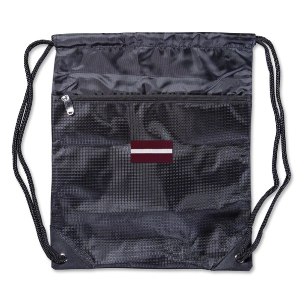 Latvia Crest Sackpack
