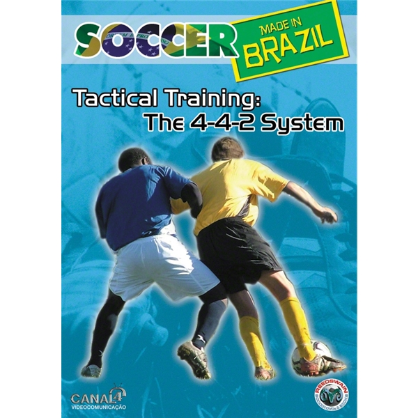 Tactical Training-The 4-4-2 System Soccer DVD