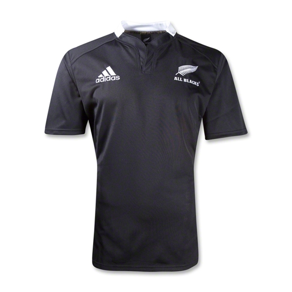 All Blacks 12/13 Youth Home SS Rugby Jersey