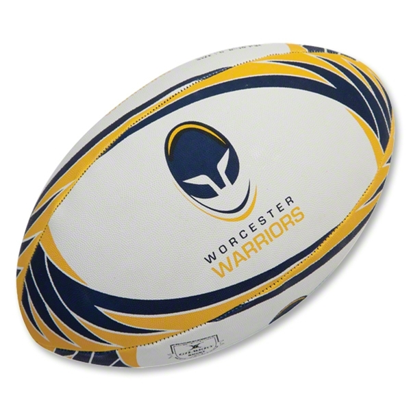 Gilbert Worcester Supporter Rugby Ball