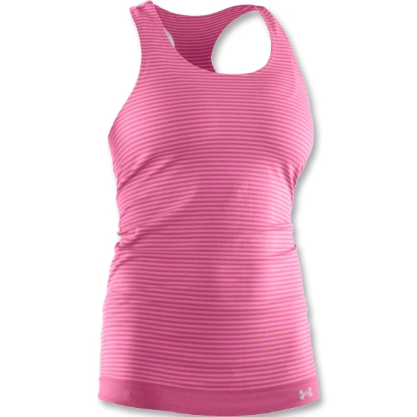 Under Armour Women's Charm Seamless Tank (Pink)