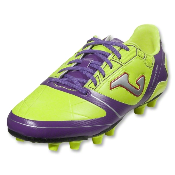 Joma Super Copa Junior FG (Fluo Yellow/Purple/White)