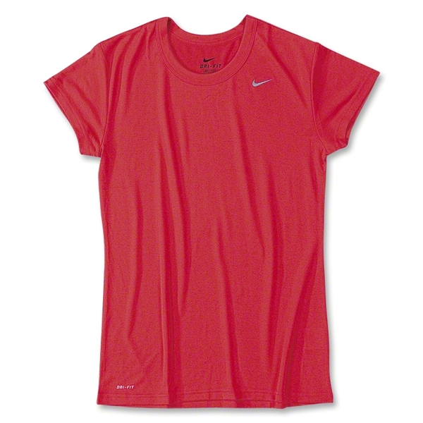 Nike Women's Performance T-Shirt (Red)
