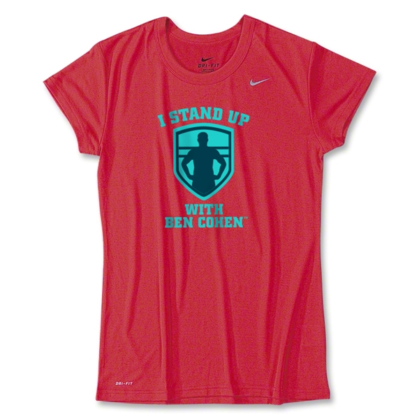 I Stand Up with Ben Cohen Women's Nike T-Shirt
