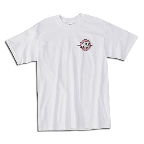 Bad Dog Soccer T-Shirt (White)