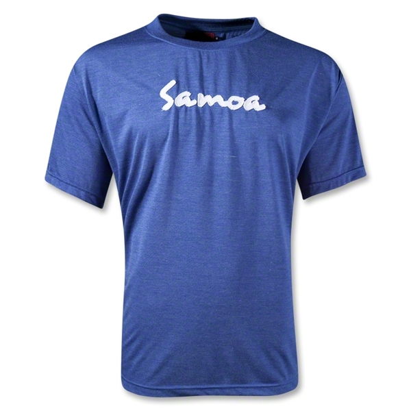 Samoa Supporter T-Shirt (Royal)