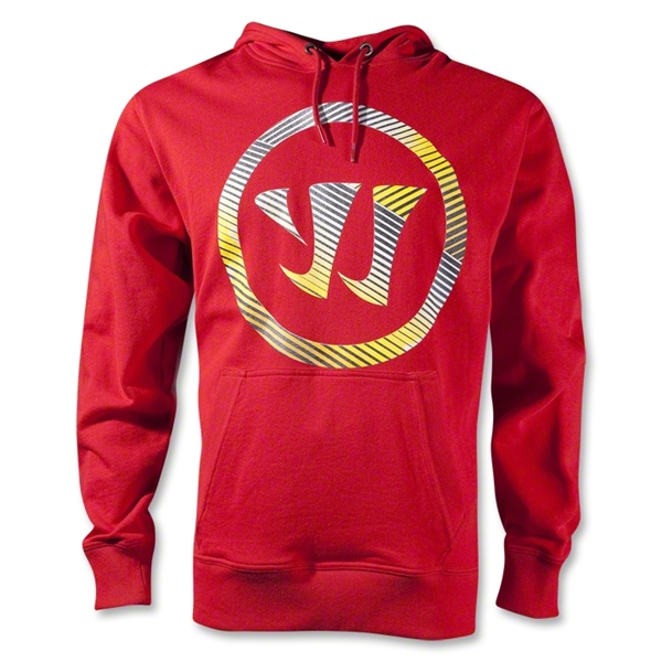 Warrior Fadeout Pullover Hoody (Red)