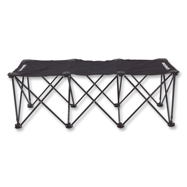 Insta-Bench Three-Seater (Black)