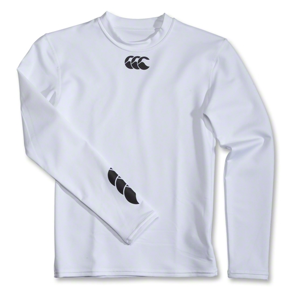 Canterbury CCC Baselayer Cold Youth LS Training Top (White)