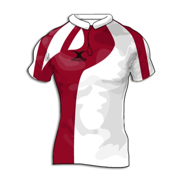 Gilbert Swoop Premier Custom Jersey (White/Red- Set of 22)
