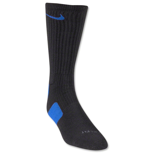 Nike Elite Crew Sock (Blk/Royal)