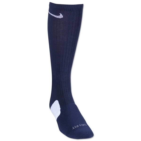 Nike Elite Crew Sock (Navy/White)