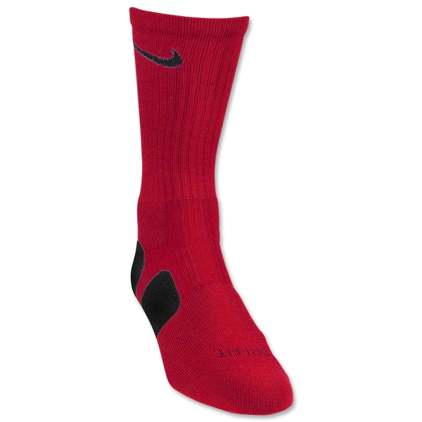 Nike Elite Crew Sock (Red/Black)