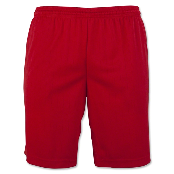 Zip Pocket Coach's Short (Red)