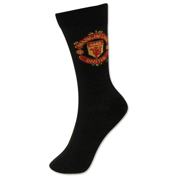Manchester United Crest Sock (1 Pack)