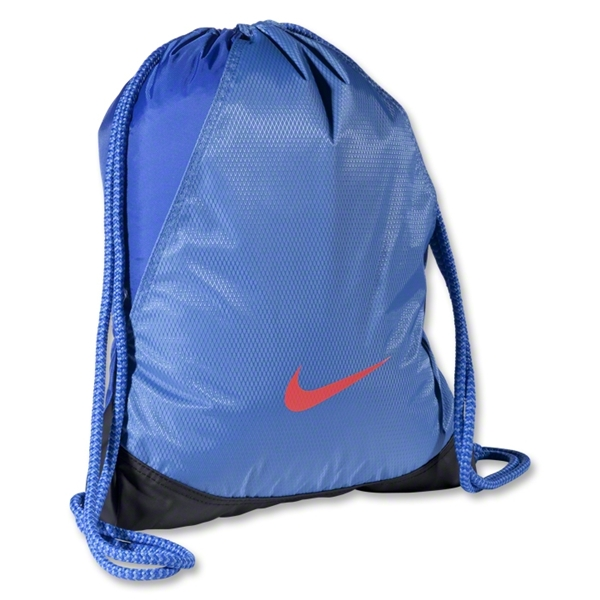 Nike Varsity Girl Metallic Gymsack (Blue)