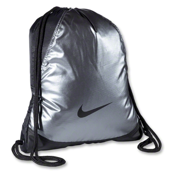 Nike Varsity Girl Metallic Gymsack (Gray)