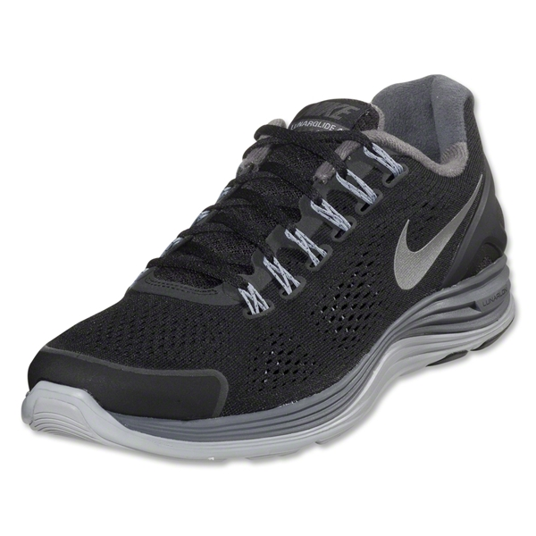 Nike Lunarglide+ 4 (Black/Dark Grey)