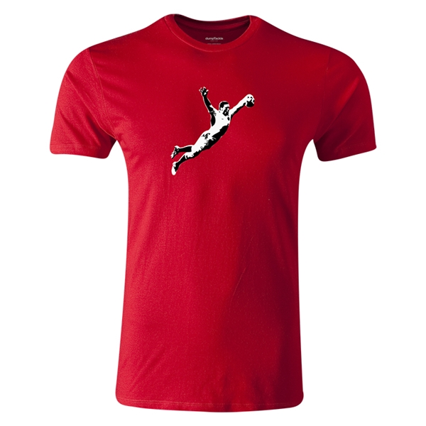 dumpTackle Ash-Splash T-Shirt (Red)