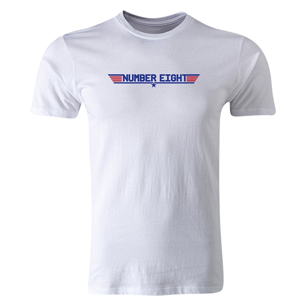 dumpTackle Number Eight T-Shirt (White)