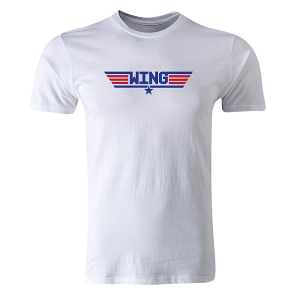 dumpTackle Wing T-Shirt (White)