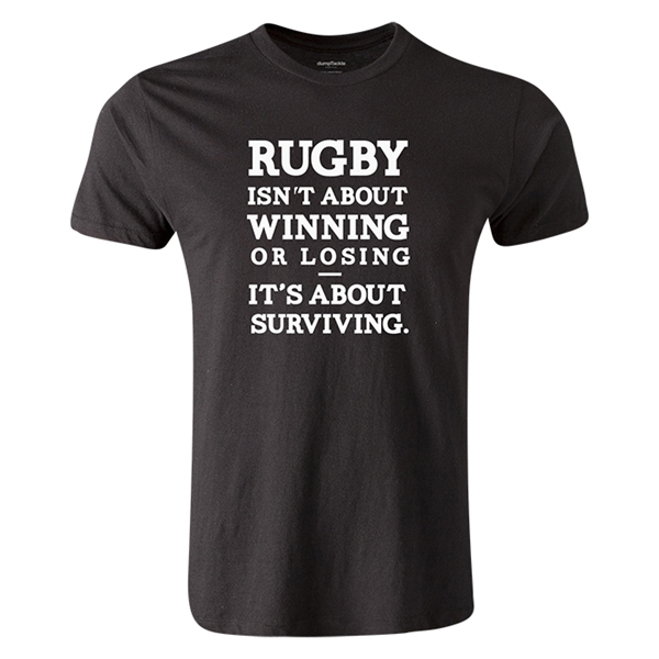 dumpTackle Surviving T-Shirt (Black)